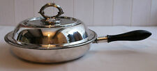 Antique James Dixon Silver Plate Convertible Entree Dish Tureen Sectional Warmer