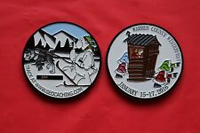 2016 Winterfest Event Trackable Geocoin, Unactivated