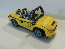 Lego Creator 5767 Cool Cruiser Yellow Car Three In One 3 in 1