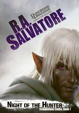 NIGHT OF THE HUNTER (9780786965113) - R. A. SALVATORE (HARDCOVER) NEW