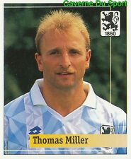195 THOMAS MILLER GERMANY TSV.1860 MUNCHEN STICKER FUSSBALL 1995 PANINI
