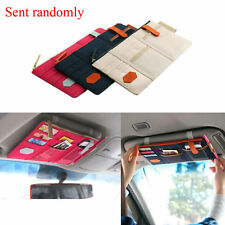 Auto Car Sun Visor Organizer Pouch Bag Card Storage CD Card Holder Organizer