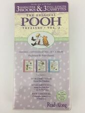 The Original Winnie the Pooh Treasury Vol. 2 Three Hardcover Books & Audio Tapes