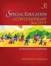 Special Education in Contemporary Society: An Introduction to-ExLibrary
