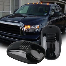 5 Smoke Cab Marker Amber LED Roof Running Light +Wiring for Dodge Ram 2500 4500