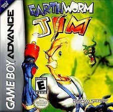 ***EARTHWORM JIM GAME BOY ADVANCE GBA COSMETIC WEAR~~~