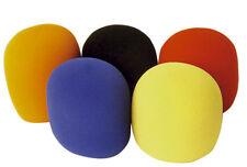 Coloured Foam Microphone Windshields 35mm (5 pack) #G122CE