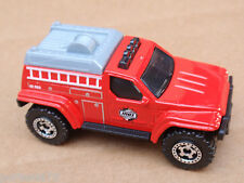 Matchbox 4X4 FIRE TRUCK from 5 Pack LOOSE Red