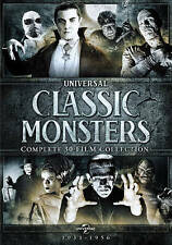 Universal Classic Monsters: Complete 30-Film Collection (DVD, 2014)