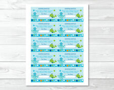 Under the Sea Octopus Whale Nautical Printable Baby Shower Diaper Raffle Tickets