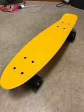 "YELLOW Penny Style Board 22"" Skateboard BLACK WHEELS ~ Quality Assured"