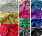 3mm Micro Mini Shiny Sequins on Stretch Polyester Spandex Fabric - 52