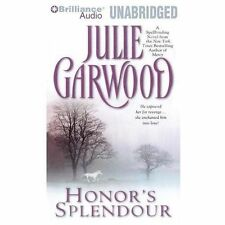 HONOR'S SPLENDOUR unabridged audio book on CD by JULIE GARWOOD