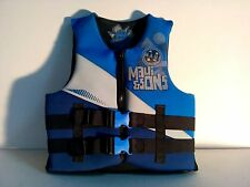 Maui and Sons boys girls youth 50-90lbs type III ski or wake boarding vest