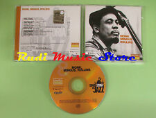 CD GRANDE STORIA JAZZ 8 compilation PROMO 01 MONK MINGUS ROLLINS (C16) no mc lp