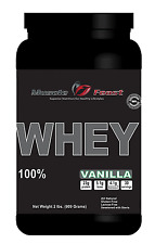 100% Whey Protein Vanilla 2lbs - All Natural