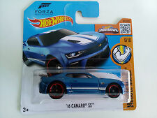 Hot Wheels 2016 – 16 Chevy Camaro SS First Ed – Muscle Mania Forza T. (129/250)