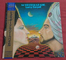 LARRY CORYELL / SCHEHERAZADE LP AUDIOPHILE +OBI + Insert Orig JAPAN ISSUE