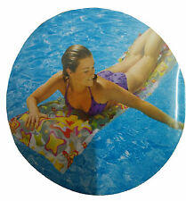 INTEX Delux Swim Swimming Pool Floating Floats Tub Bed for Adults Size 72 x 27""