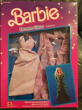 Barbie Dream Glow Fashion Lavender Dress 1985 NRFB