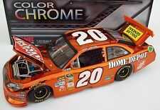 Joey Logano 2012 Home Depot #20 Brilliant Color Chrome 1/24 NASCAR Diecast New