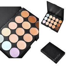 15 Colors Gloss Palette Makeup Cosmetic Concealer Camouflage Eye Shadow