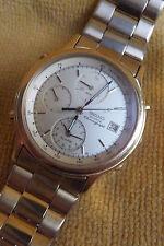 Gold Seiko Quartz Alarm Chronograph Tachymeter 7T32-6A5A A4