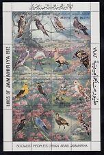 Libyen  1003 - 18  Kleinbogen   Vögel - Birds  **  (mnh)