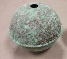 6''quality antigue finish LARGE COPPER BALL for weathervanes OR LIGHTENING RODS