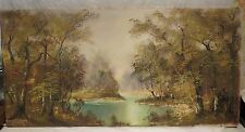 KARL GATERMANN ORIGINAL OIL PAINTING, LANDSCAPE, GERMANY, EARLY 1900'S