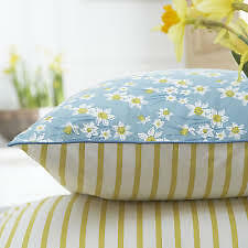 TWO NEW SEASALT 'JOYFUL DAFFODILS'  PILLOWCASES 100% COTTON