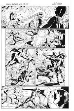 MARVEL BLACK PANTHER #10 PAGE 3 ORIGINAL ART by WILL CONRAD