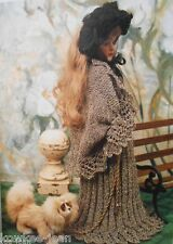 High Fashion Knitting for Dolls: gorgeous vintage clothes patterns Furze Hewitt