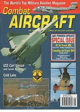 USS CARL VINSON - ROCKWELL B-1B LANCER COMBAT Aircraft Magazine July August 2001