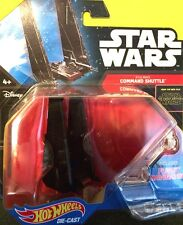 Hot Wheels 2016 Diecast Star Wars Starship #11 KYLO REN'S COMMAND SHUTTLE nip