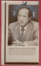"Pete Rozelle Feb 11, 1975  ""Draft Reserve System"" - Examiner Reference Library"