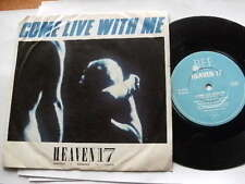 HEAVEN 17 1983 COME LIVE WITH ME 45rpm vinyl 7ins record JUKEBOX