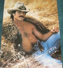 1980 J.R. Woods Rare Vintage Posters mint art celebrity idols pin up male prints