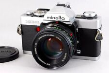 [NEAR MINT] Minolta XG-S SLR 35mm Film Camera w/ MD 50mm f/1.7 from Japan #441