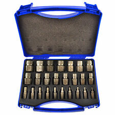 25pc Stud Screw Extractor / Remover, Nut & Bolt Easy Out Reverse By BERGEN AT060