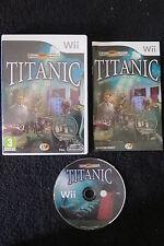 WII : TITANIC - Completo ! Esplora la famosissima nave ! Compatibile Wii U