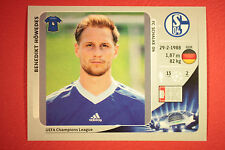 PANINI CHAMPIONS LEAGUE 2012/13 N. 104 HOWEDES SCHALKE 04 BLACK MINT!