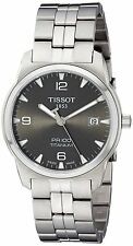 Tissot Men's T0494104406700 'PR 100' Titanium Watch
