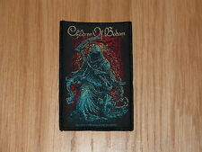 CHILDREN OF BODOM - GRIM REAPER (NEW) SEW ON W-PATCH OFFICIAL BAND MERCHANDISE
