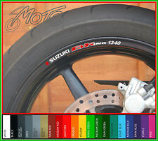 8 x SUZUKI B-KING 1340 Wheel Rim Stickers Decals - bking b king gsx1300 gsx 1300