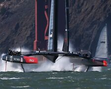 America's Cup Sailboat Sailing Boat USA Under Golden Gate Bridge 2013 8x10 Photo