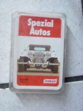 Spezial Autos   Quartett  -  von Joker   Nr. 3269/1 -alt