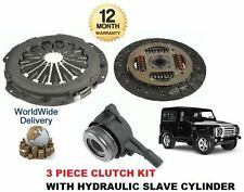 FOR LAND ROVER DEFENDER 2.2 TD4 2011-- ON CLUTCH KIT 3 PIECE + HYDRAULIC BEARING