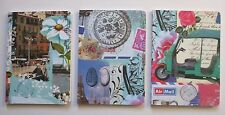 f TUK TUK travel set of 3 NOTEBOOK Journal blank book 80 pg each Roger la Borde