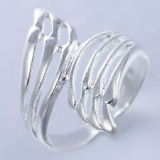 5pcs Wholesale Lots 925 Silver Wing Engagement Wedding Anniversary Ring Jewelry